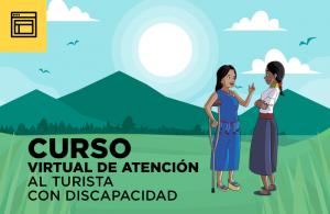 Curso Virtual de Atención al turista con discapacidad - Inscríbete
