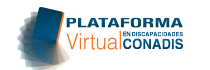 PLATAFORMA VIRTUAL CONADIS